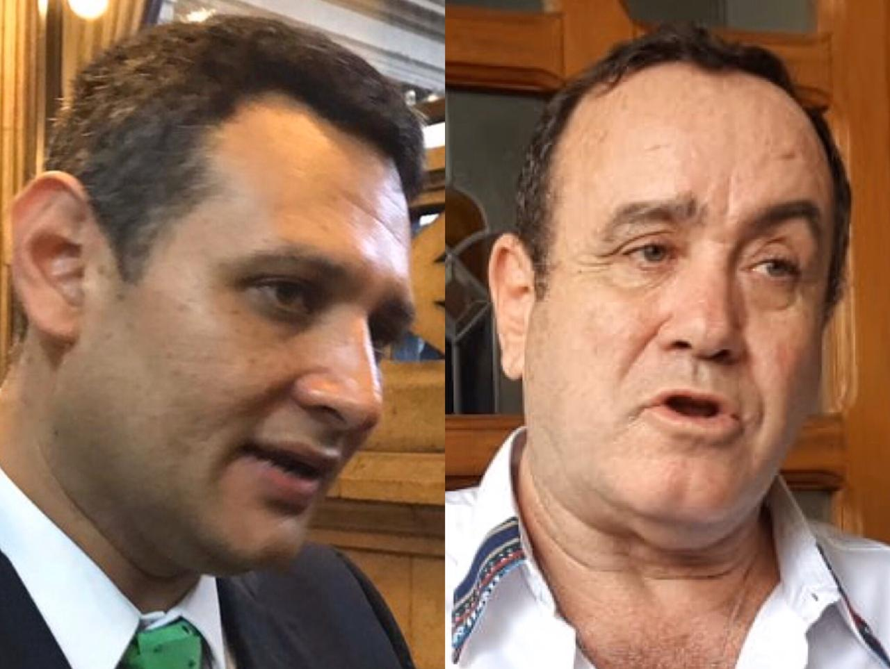 Diputado Óscar Argueta señala a Giammattei de reunirse con congresistas Estuardo Vargas y Carlos López