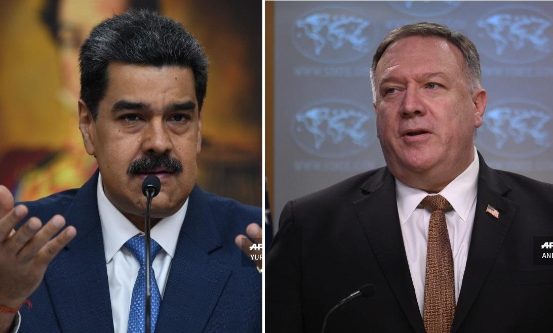 "EEUU inculpa de ""narcoterrorismo"" a Nicolás Maduro"