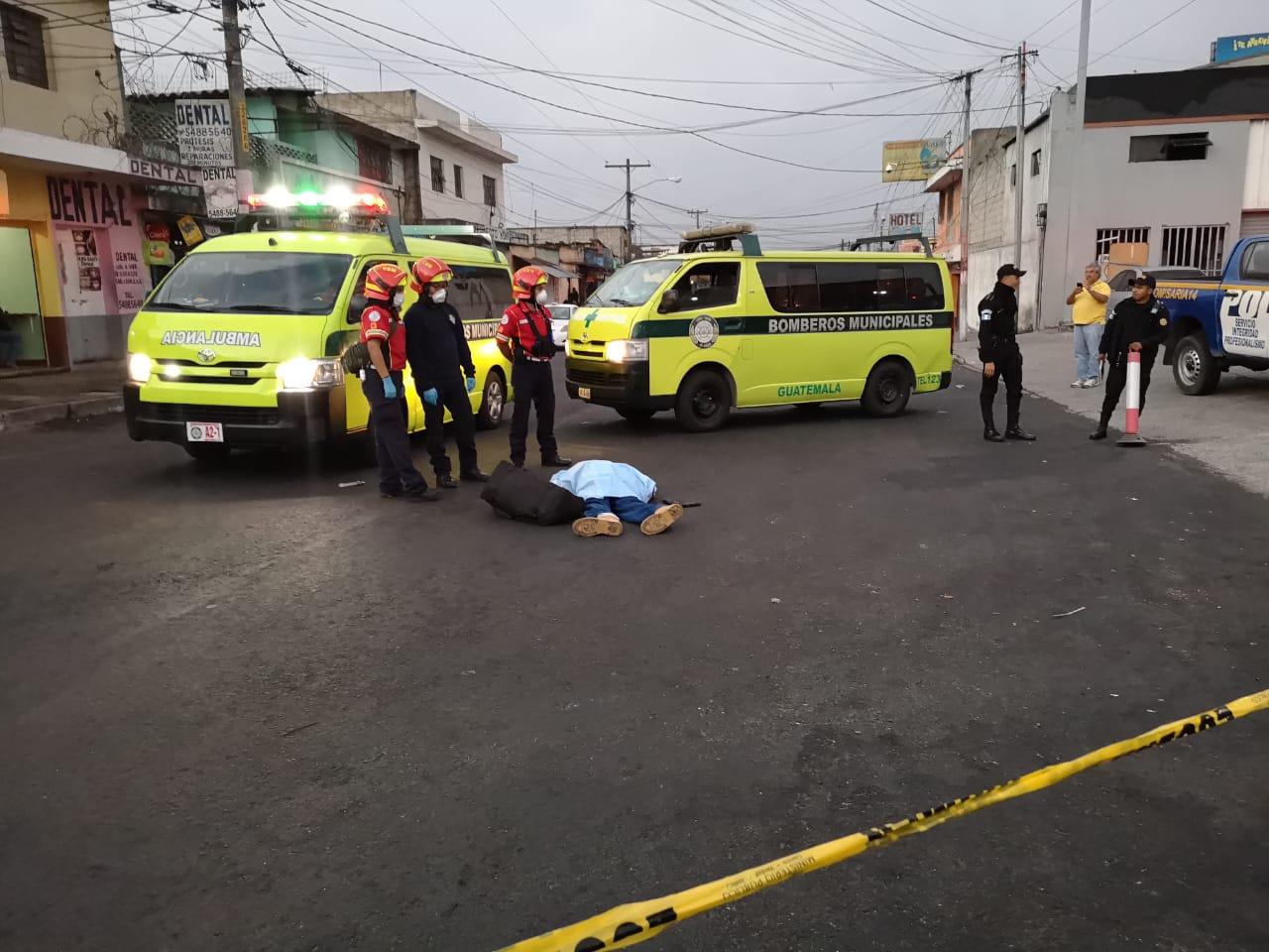 Hombre murió baleado en la colonia La Reformita, zona 12