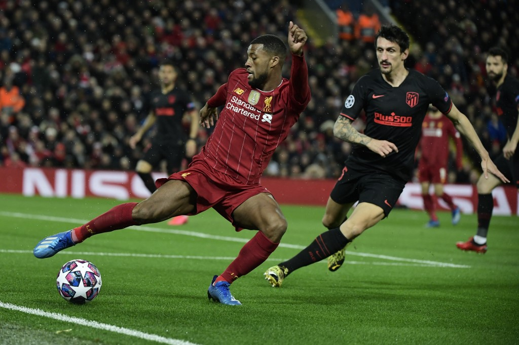 Liverpool vs Atlético de Madrid, Champions League