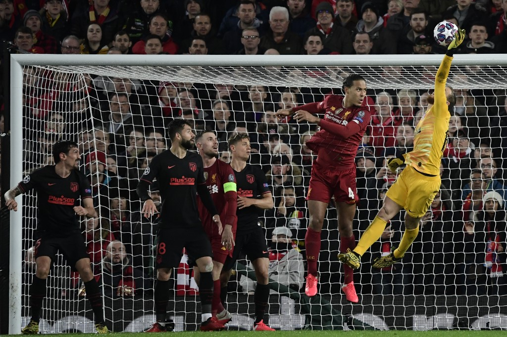 Las mejores atajadas de Jan Oblak en el Liverpool vs Atlético