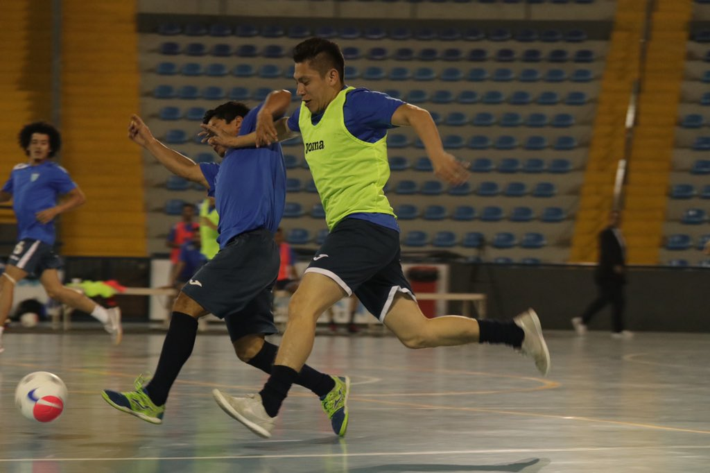 Selección de Futsal hará campamento de preparación en Brasil