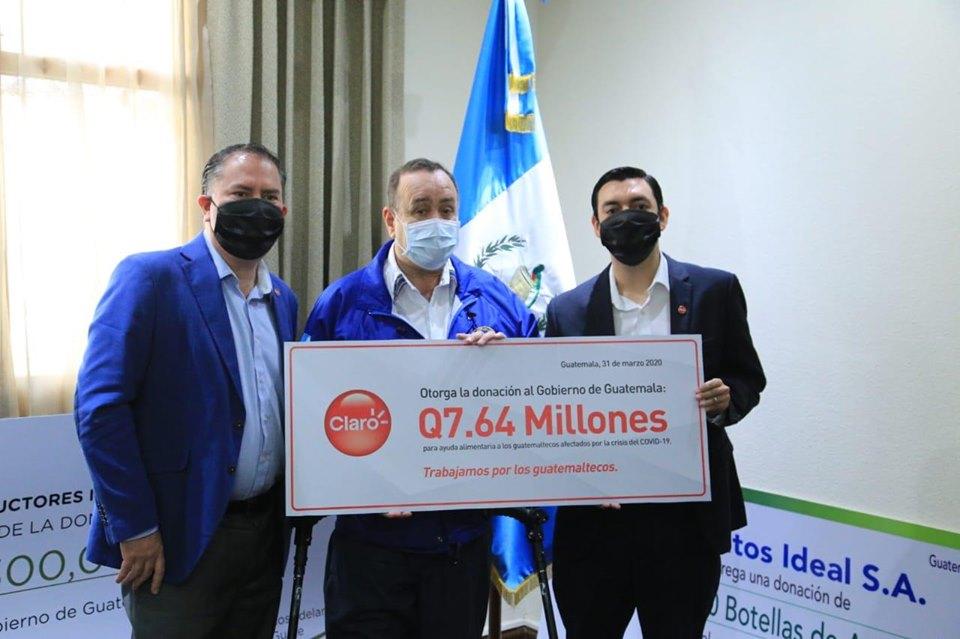 Donativo Claro Guatemala