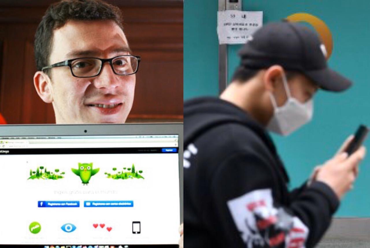 Coronavirus: Luis von Ahn destaca aumento de uso de Duolingo en China