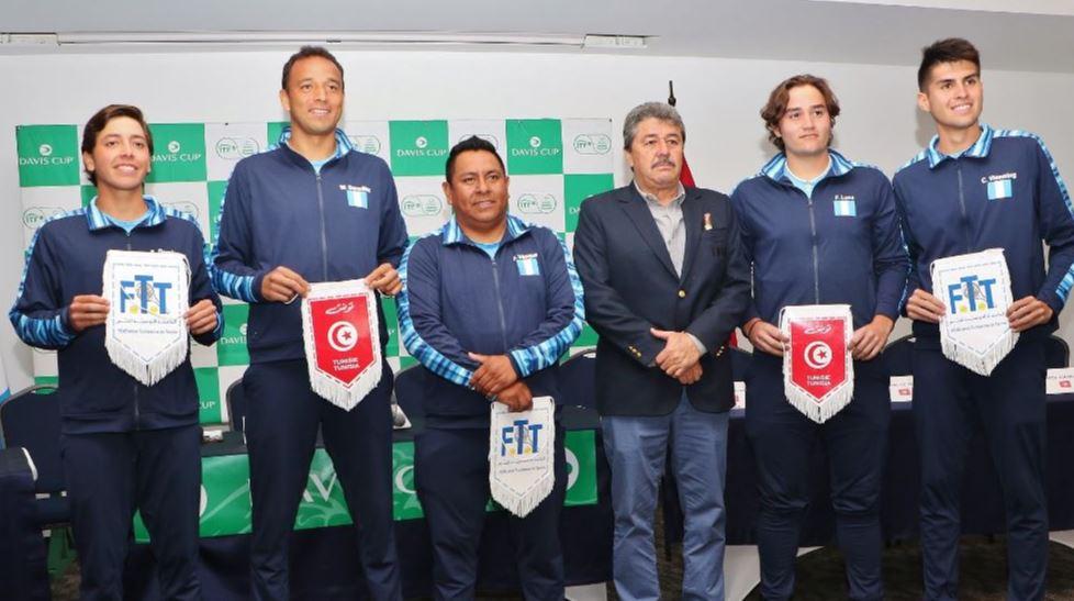 Guatemala apuesta a sus mejores raquetas para llegar al Grupo Mundial II de Copa Davis