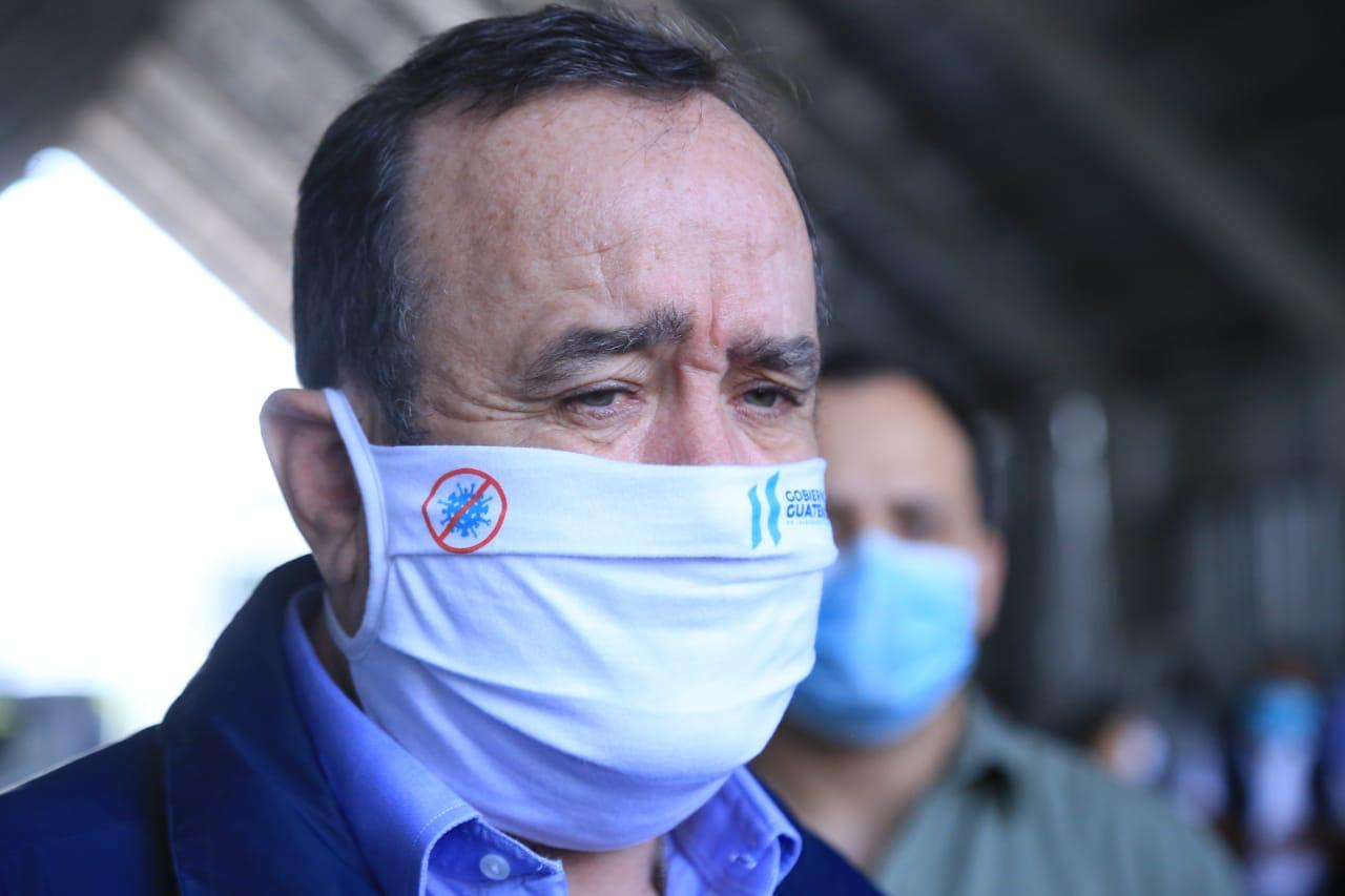 Presidente Alejandro Giammattei emergencia coronavirus