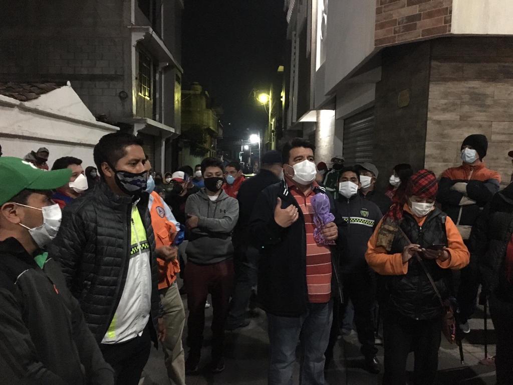 Pobladores expresan preocupación por entierro de víctima de coronavirus en cementerio cerca de viviendas
