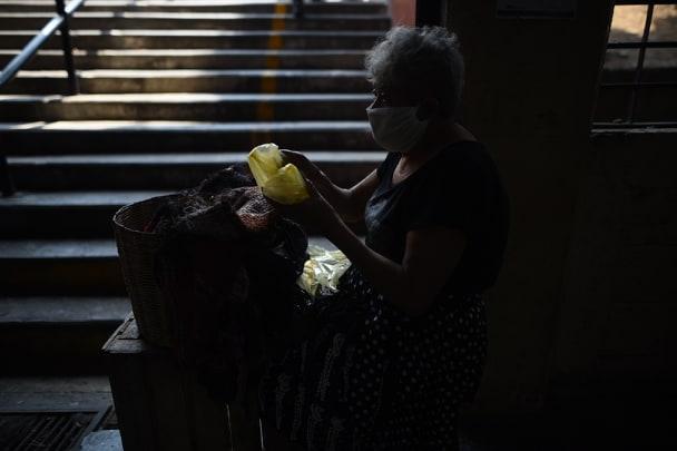 VIDEO | El silencio en el mercado: pocos compran, no hay ganancia