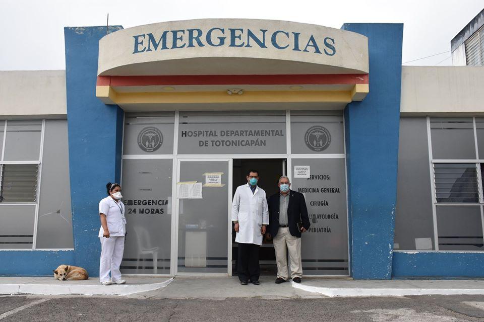 Ordenan cierre por 72 horas el Hospital de Totonicapán como medida de prevención