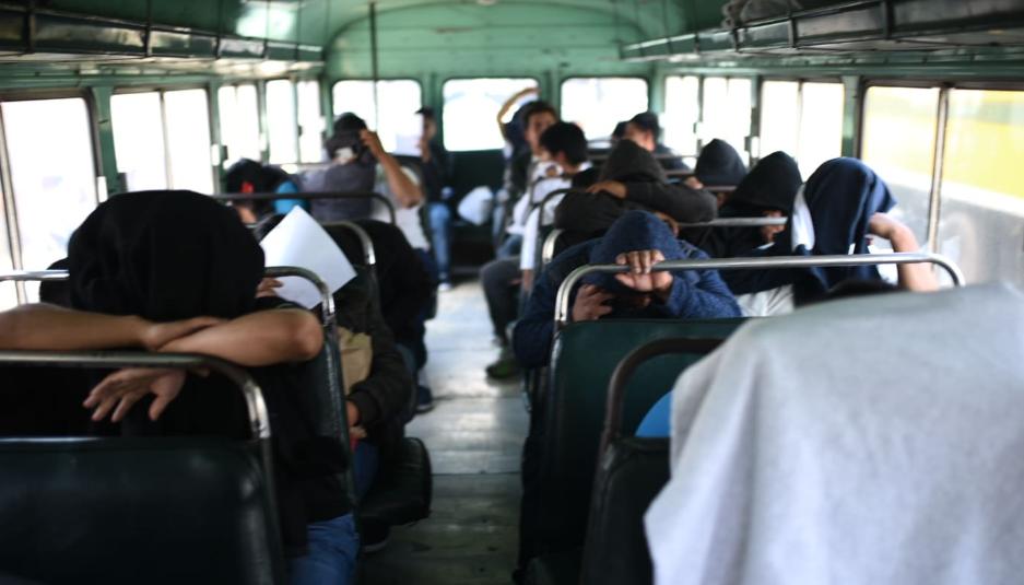 Agresión guatemalteco migrante en Santa Catarina Palopó, Sololá