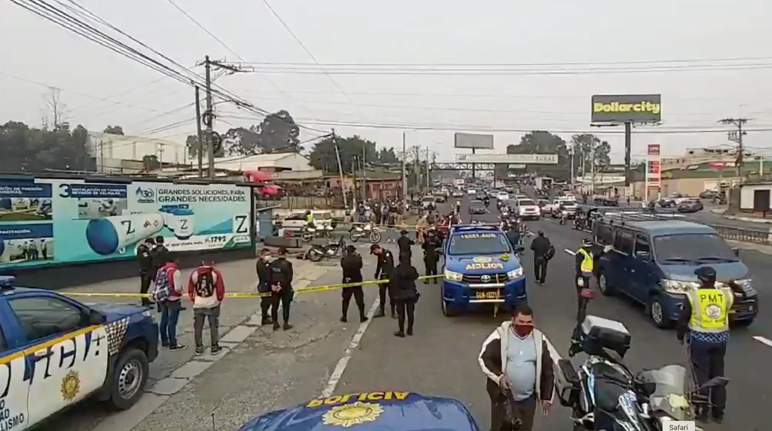 Ataque armado en la ruta al Pacífico deja a motorista muerto