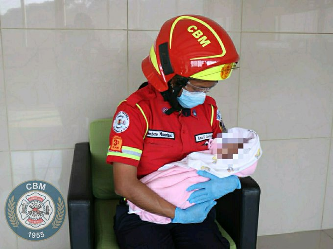 En pleno toque de queda dejan abandonada a una recién nacida