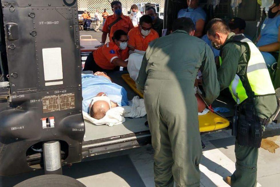 Una persona resultó afectada en Michoacán, pero las autoridades de Jalisco no dieron detalles sobre su estado de salud.