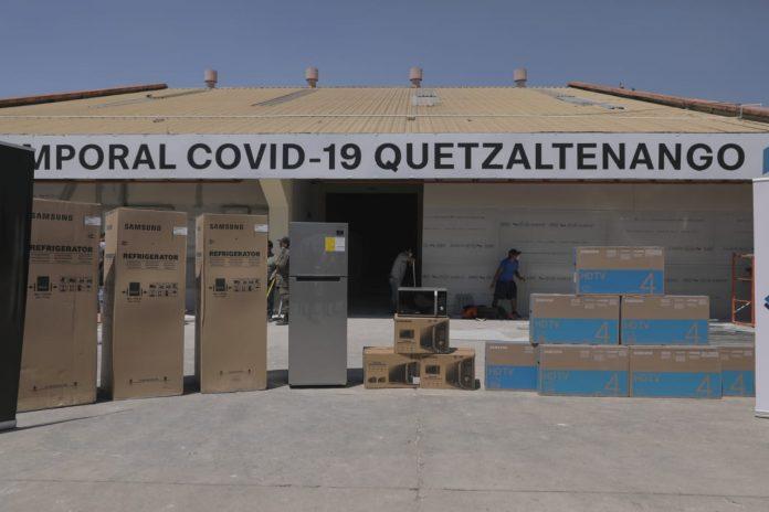 Hospital temporal de Quetzaltenango atenderá a partir del fin de semana