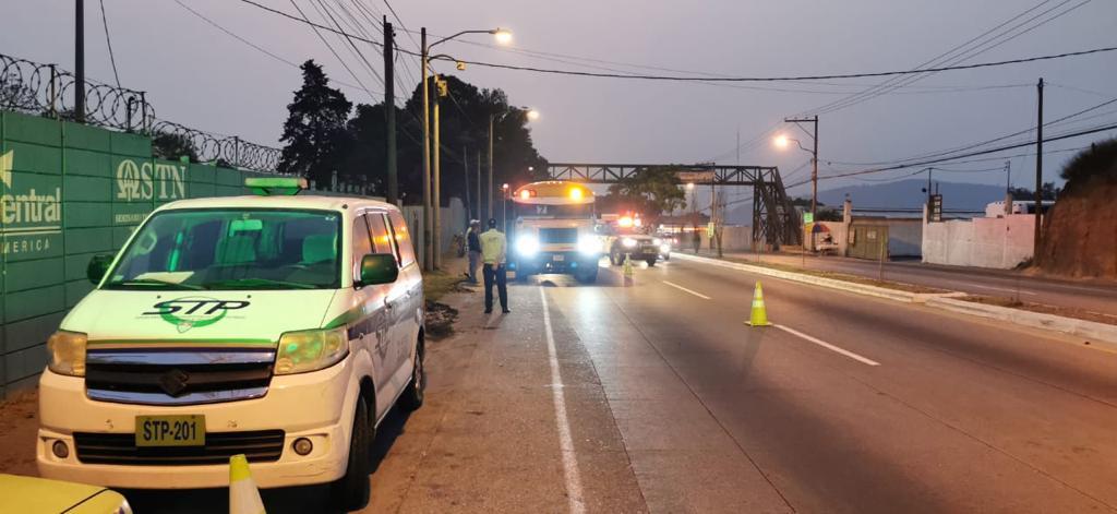 Multas a buses durante la crisis del coronavirus ascienden a Q110 mil
