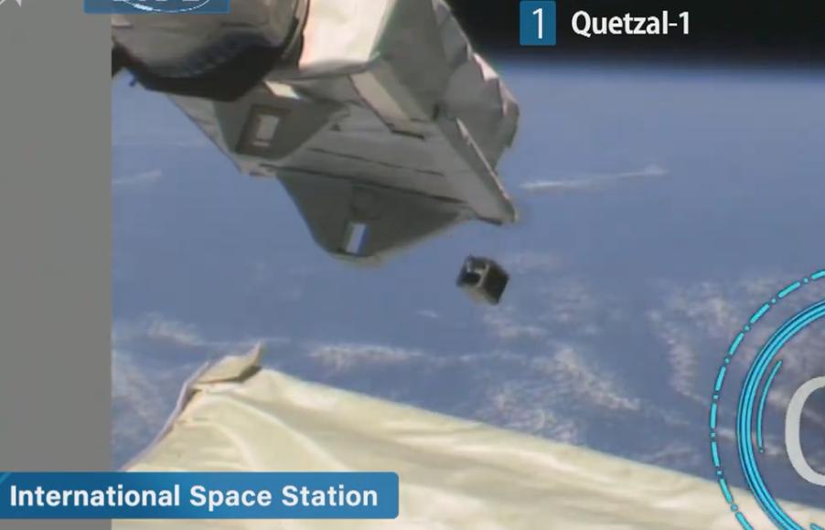 Satélite guatemalteco, Quetzal-1, ya está en órbita