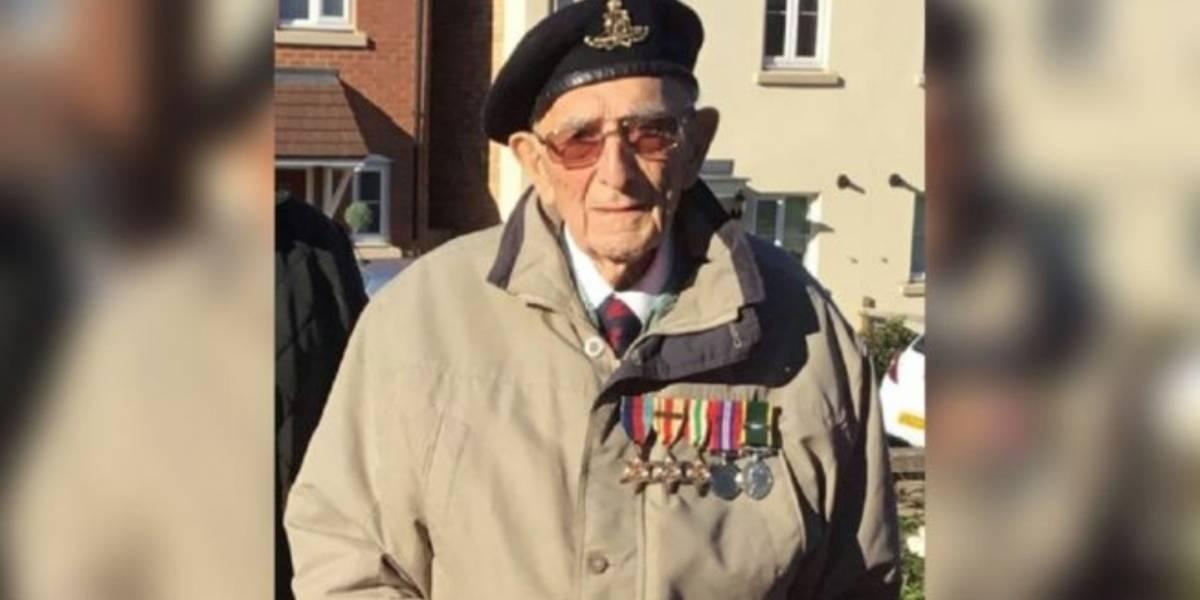 Veterano de la Segunda Guerra Mundial se recupera el COVID-19