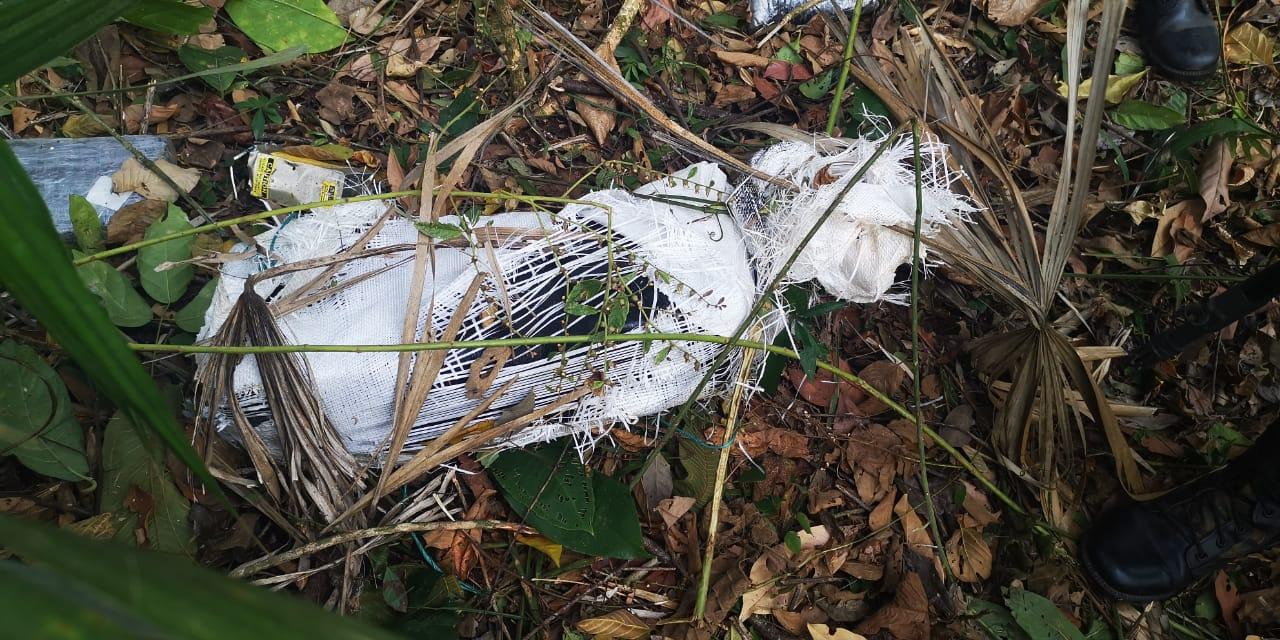 Avioneta donde se trasportaba droga se accidenta cerca de una pista clandestina, hay un muerto