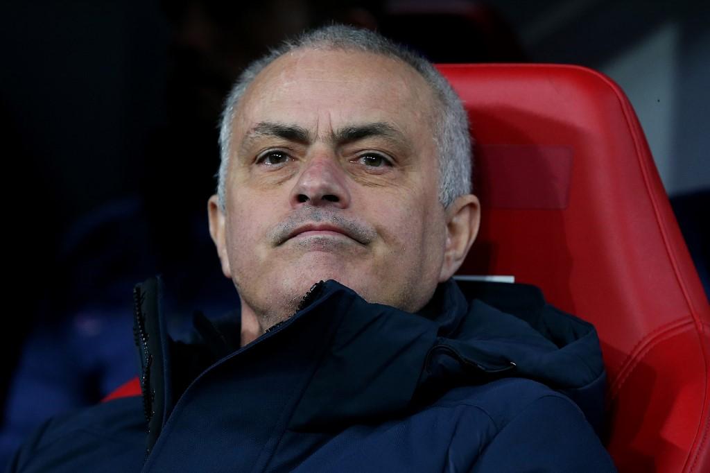José Mourinho, técnico del Tottenham