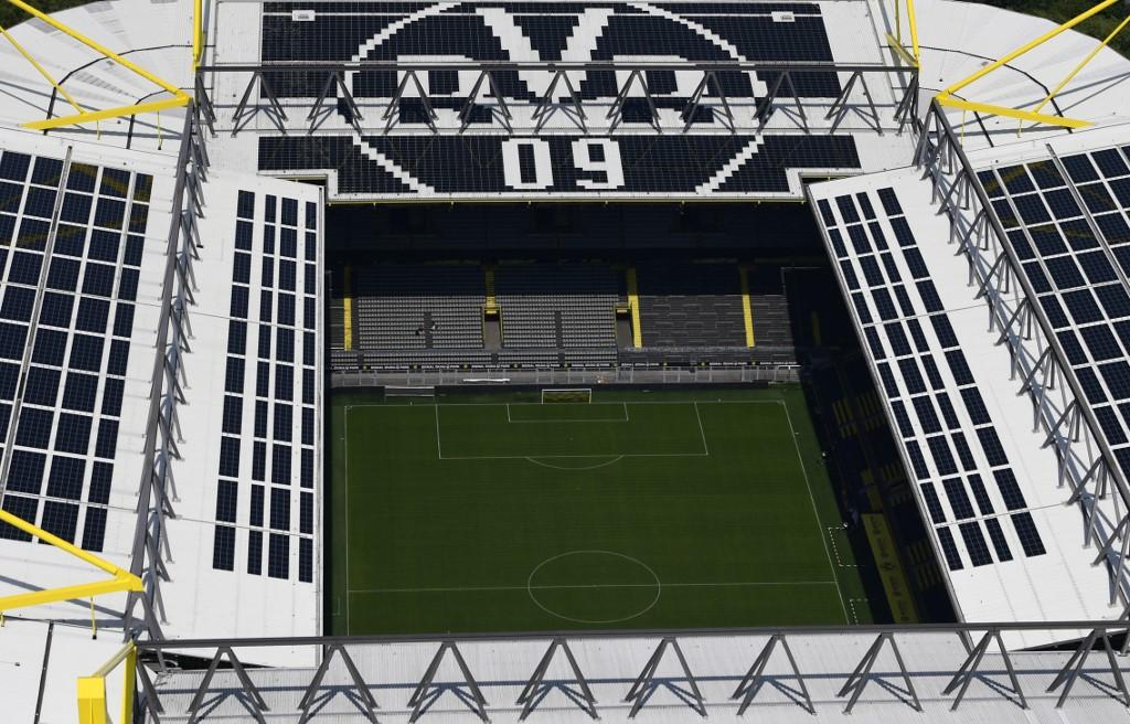 Alineación confirmada del Borussia Dortmund