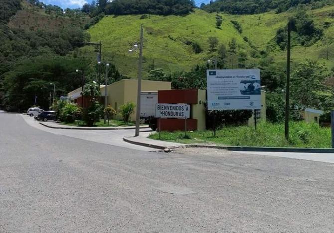 Cierran paso fronterizo con Honduras de El Florido