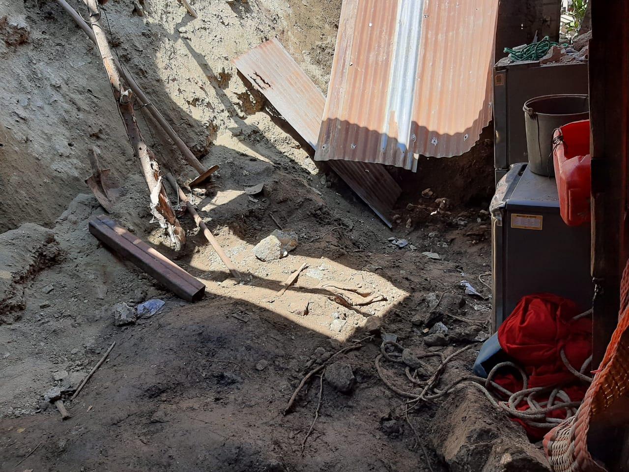 Dos menores murieron soterrados en aldea La Fragua, Zacapa2