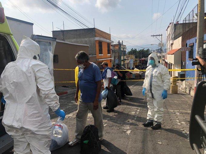 COVID-19: Trasladan a 17 pacientes a área aislada de Hospital de Infectología San Vicente de Paúl