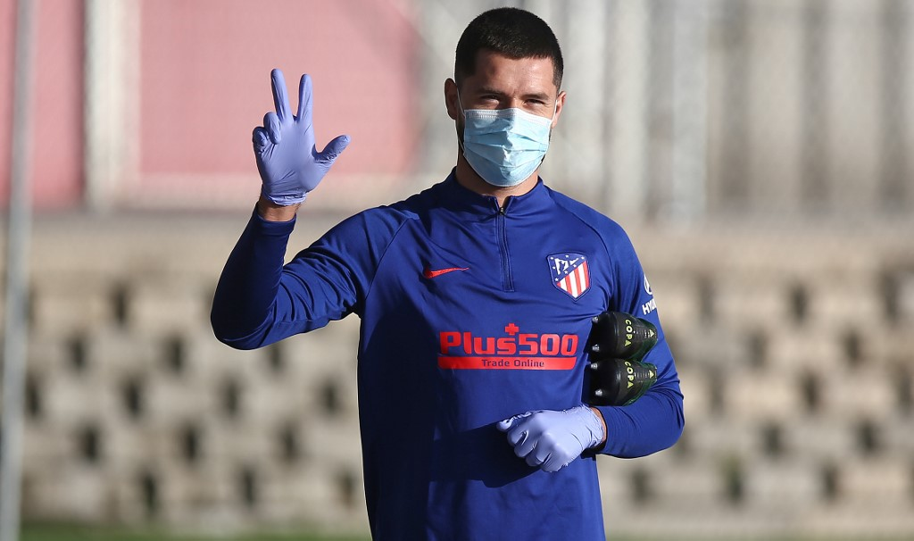 Futbolistas del Atlético de Madrid regresan a los entrenos
