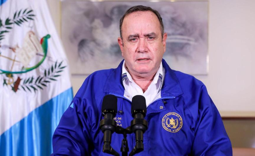 Presidente Alejandro Giammattei