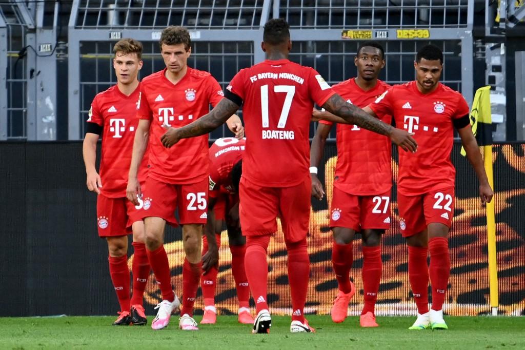 Jugadores del Bayern Münich nuevamente se reducen el sueldo