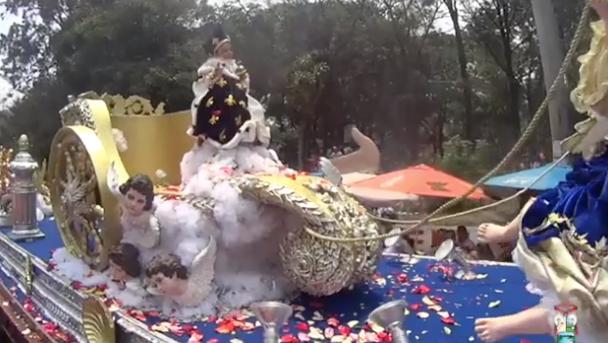 La feria patronal de Amatitlán es celebrada con restricciones
