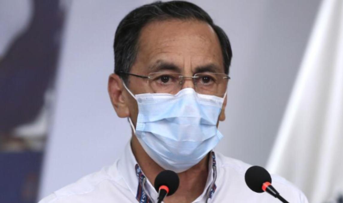 Ministro de salud actualización de casos de coronavirus