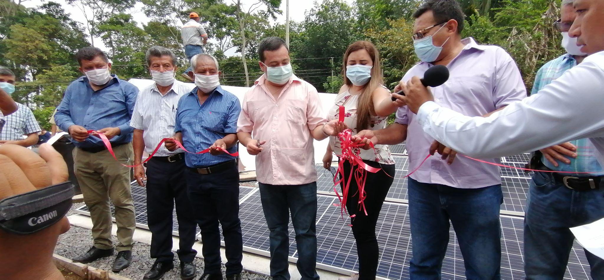 Municipalidad en Suchitepéquez utiliza energía solar para bombear agua