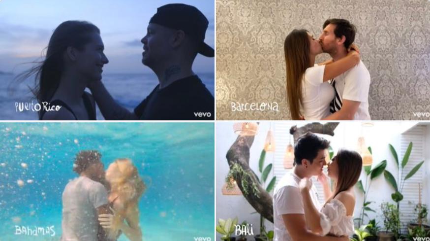 Las redes estallan con los besos de Ricky Martin, Messi, 'Canelo', entre otros