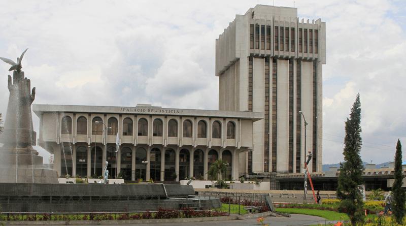 Organismo Judicial (OJ) y Corte Suprema de Justicia (CSJ).