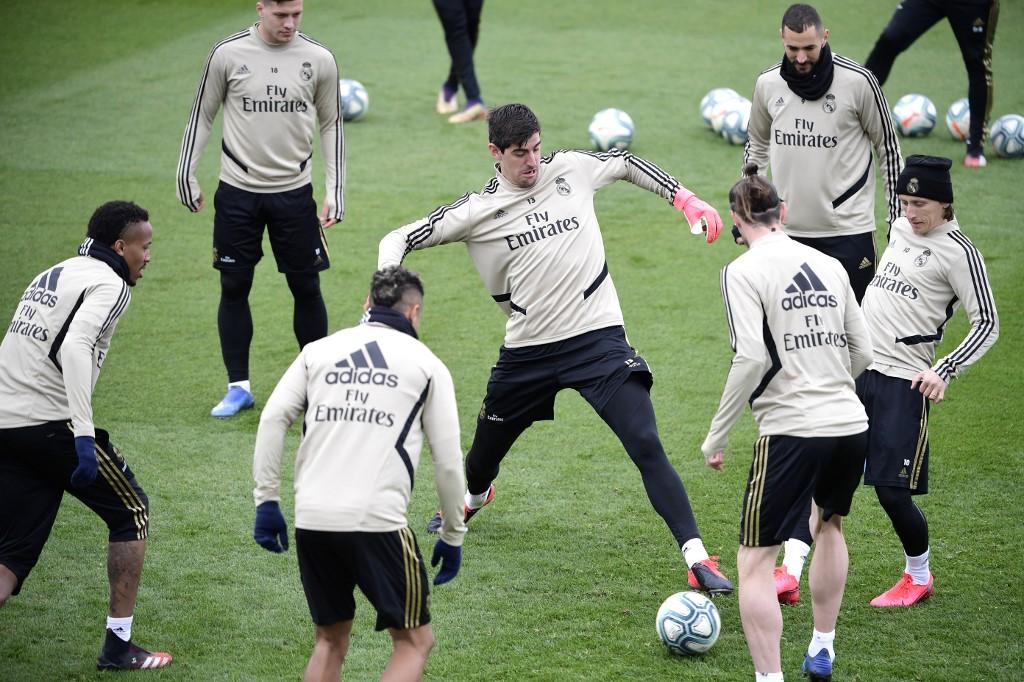 Real Madrid regreso a los entrenamientos