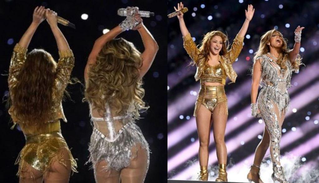 JLo revela imágenes de la fuerte y sexy preparación para el Super Bowl con Shakira