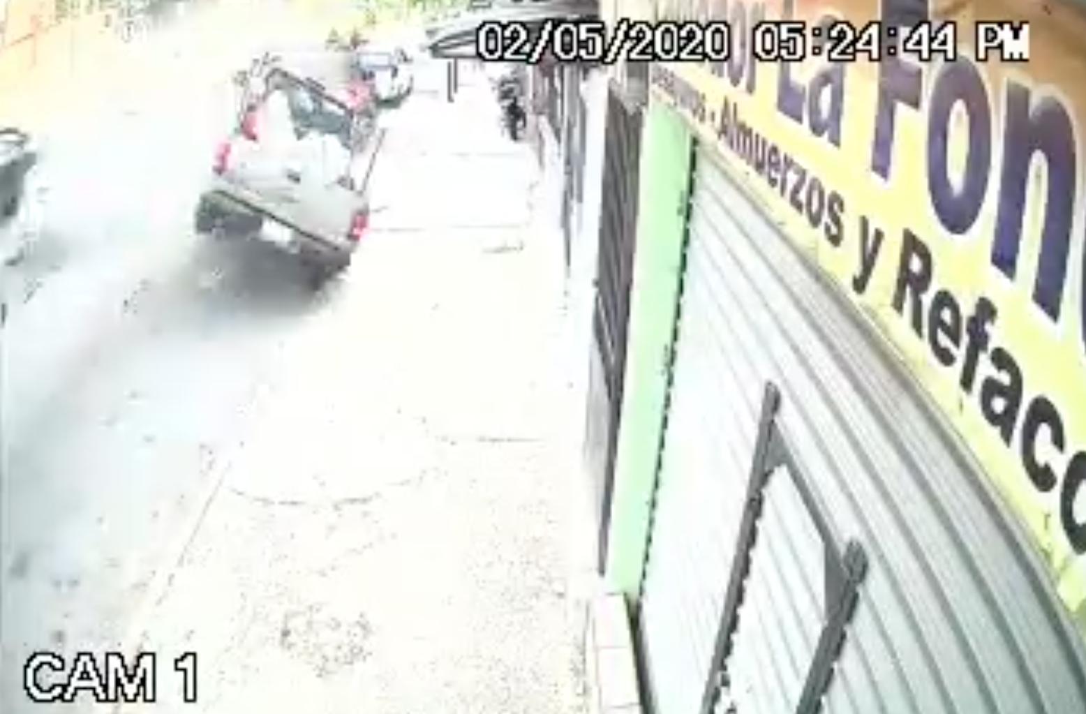 VIDEO: así fue el fatal accidente en la calzada Atanasio Tzul