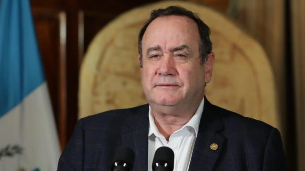 Presidente Alejandro Giammattei casos de coronavirus
