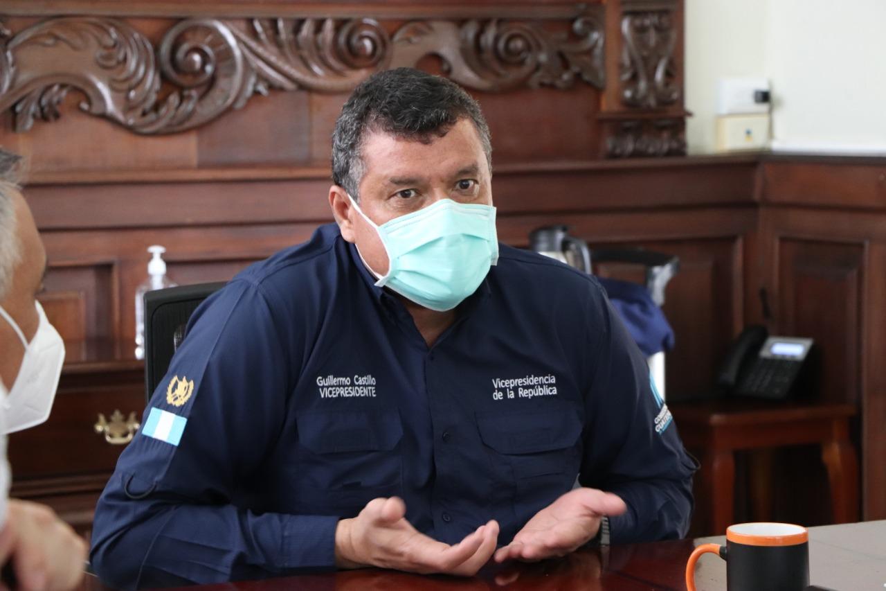 Vicepresidente se pronuncia ante hallazgos de la PDH en Hospital de Villa Nueva