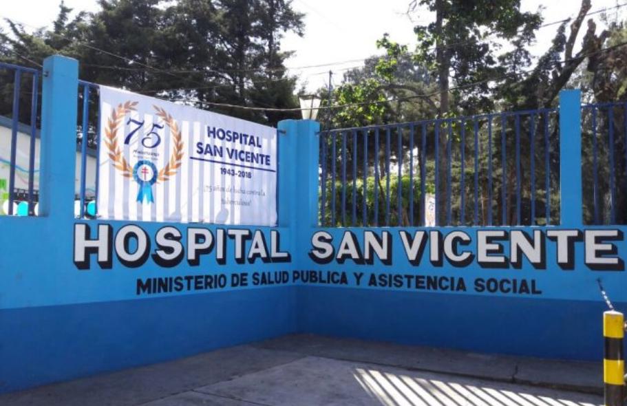 Salud indica que dos pacientes con COVID-19 abandonaron Hospital San Vicente