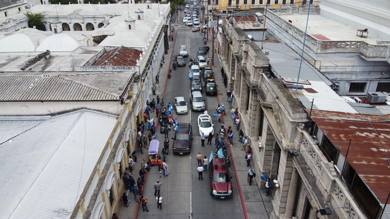 Gobierno se pronuncia tras protestas contra medidas por emergencia del coronavirus