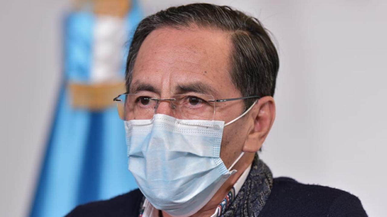 Ministro de Salud, Hugo Monroy, casos de coronavirus