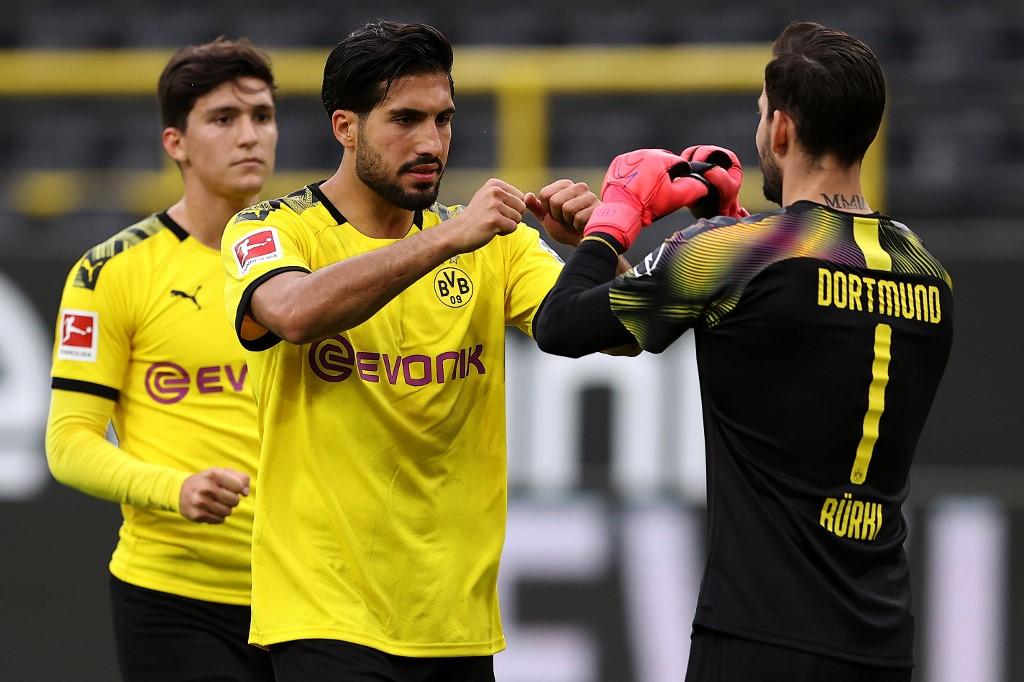 Resultado Borussia Dortmund vs Hertha Berlin, Bundesliga 2020