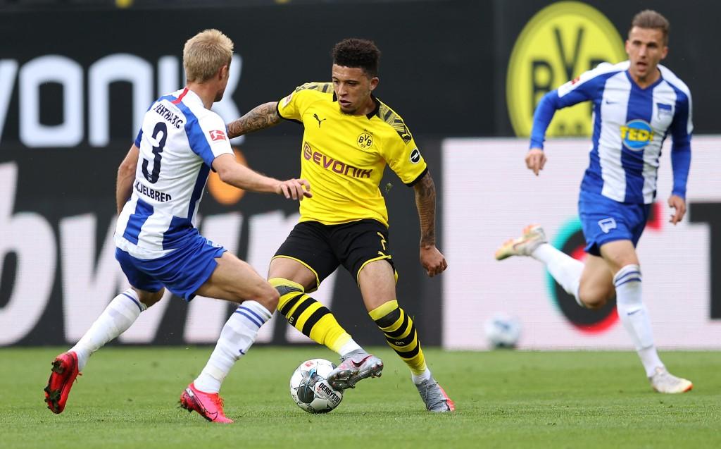 Partido Borrusia Dortmund vs Hertha Berlin, Bundesliga