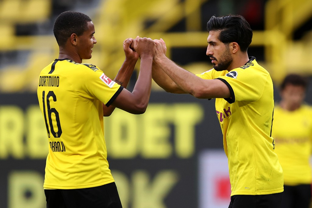 Borussia Dortmund vence por la mínima al Hertha