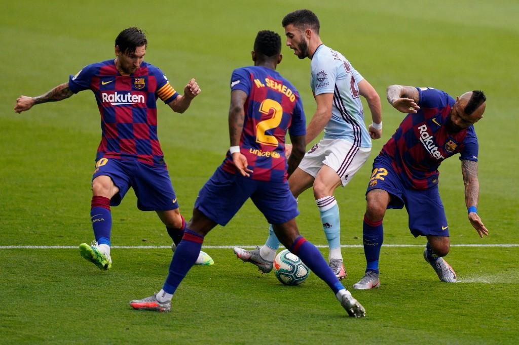 Celta de Vigo vs FC Barcelona por La Liga 2020