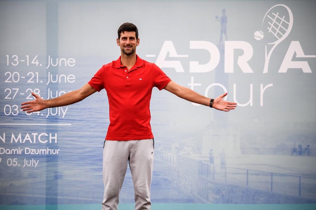Fiesta donde Djokovic pudo contagiarse de coronavirus