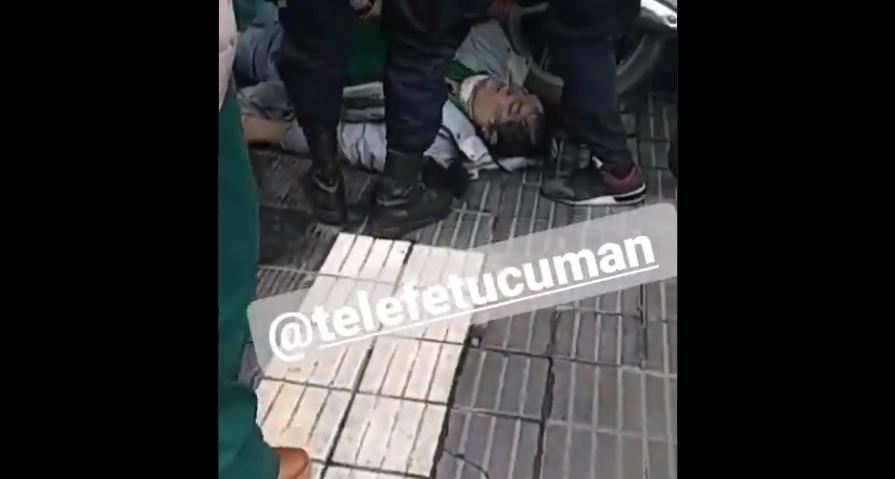Hombre muere asfixiado durante detención policial en Argentina, la víctima pidió ayuda