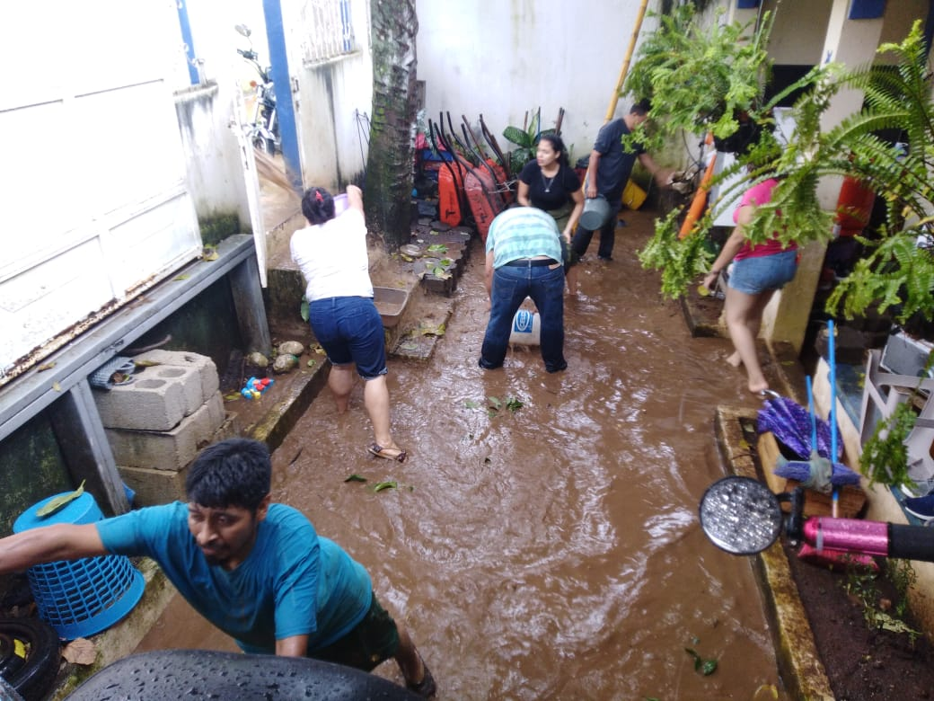 Inundaciones en Suchitepéquez